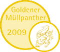 Goldener Müllpanther © A14