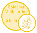 Goldener Müllpanther 2016 © A14