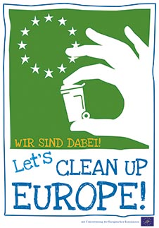 Let´s clean up Europe © www.ewwr.eu